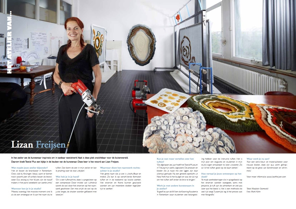 000 Textile Plus Magazine Lizan Freijsen